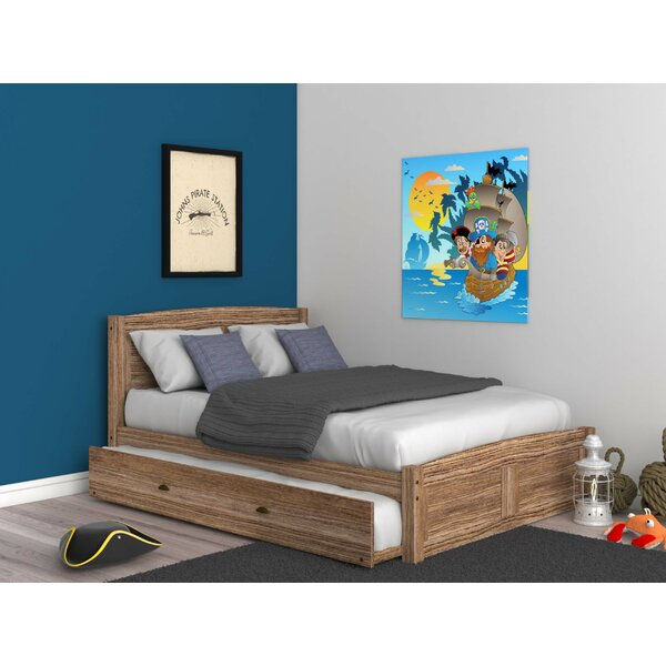 Batey Full Platform Bed with Trundle by Harriet Bee