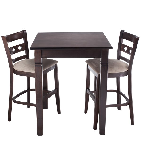 Ewell 3 Piece Counter Height Pub Table Set by Red Barrel Studio