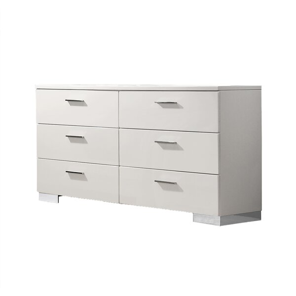 Innisfil 6 Drawer Double Dresser by Orren Ellis