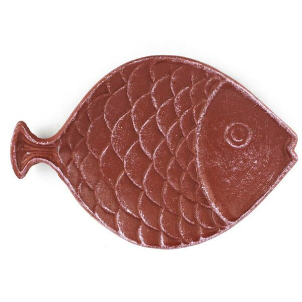 Bafra Fish Decorative Plate by Beachcrest Home