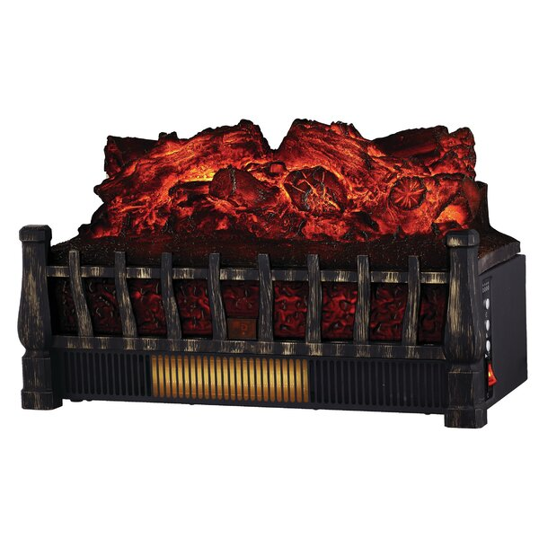 Comfort Glow Electric Log Set With Heater By All Pro.