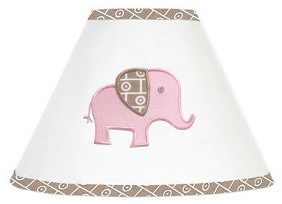 Elephant 7 Cotton Empire Lamp Shade by Sweet Jojo Designs