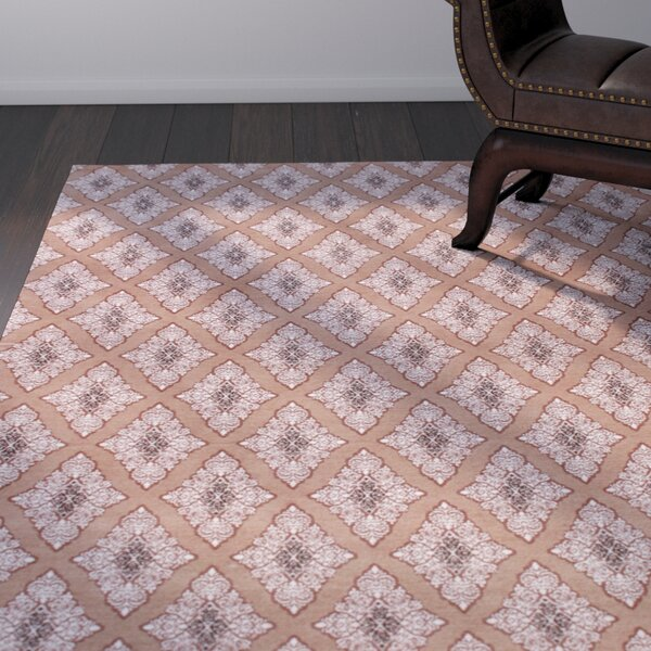Rosalida Hand Woven Brown Area Rug by Bloomsbury Market