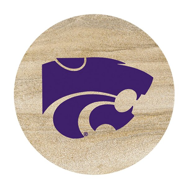 Kansas State University Collegiate Coaster (Set of 4) by Thirstystone