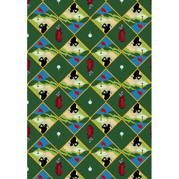 Green Area Rug by The Conestoga Trading Co.