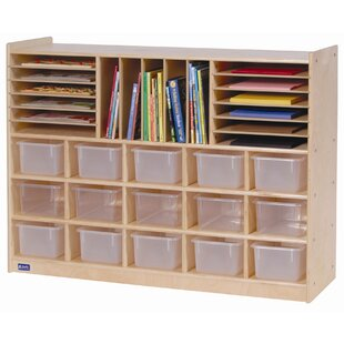 Affordable Price 32 Compartment Cubby with Casters ByAngeles
