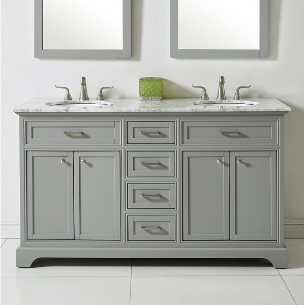 Darry 60 Double Bathroom Vanity Set by Darby Home Co