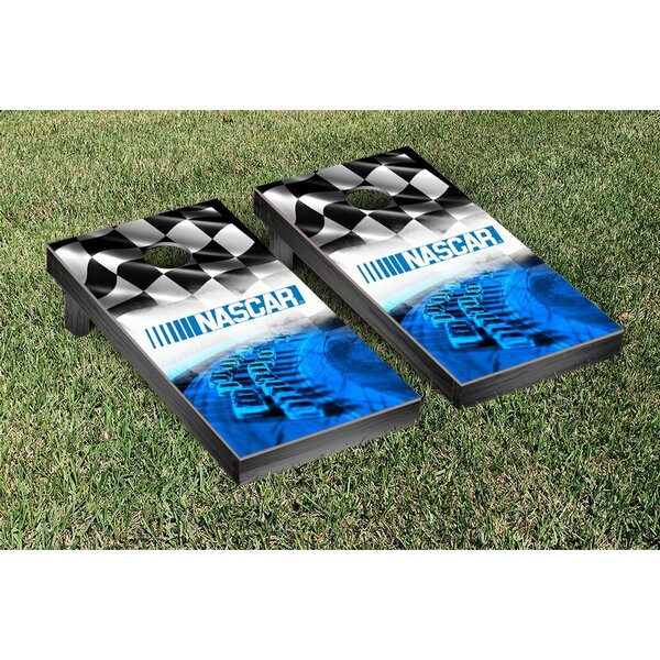 NASCAR Race Track Version 2 Cornhole Game Set by Victory Tailgate