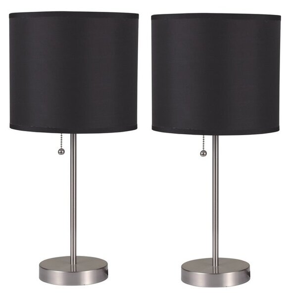 Kalil 19 Table Lamp (Set of 2) by Latitude Run