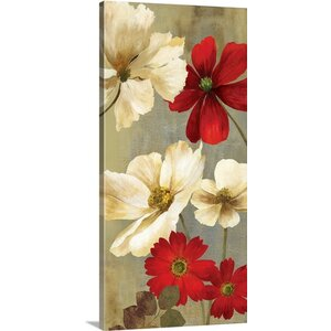 Springerle Florals I by Asia Jensen Painting Print on Wrapped Canvas by Great Big Canvas