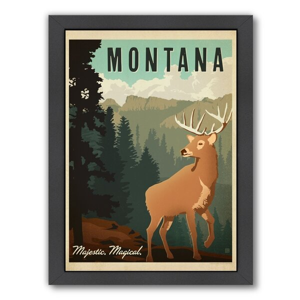 Montana 1002 Framed Vintage Advertisement by East Urban Home
