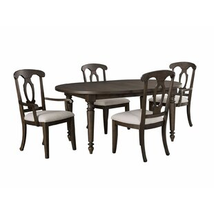 Ashgrove 5 Piece Extendable Solid Wood Dining Set By Broyhill®