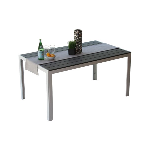 Naudain Rectangular Dining Table by Latitude Run