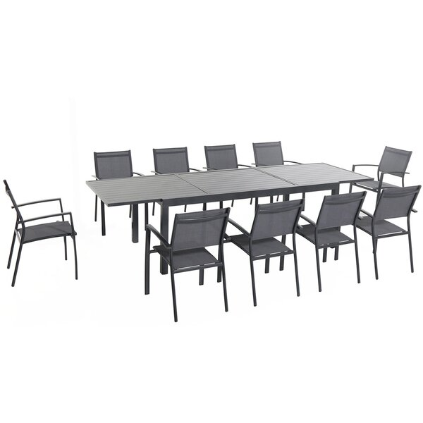 Liang 11 Piece Dining Set by Latitude Run