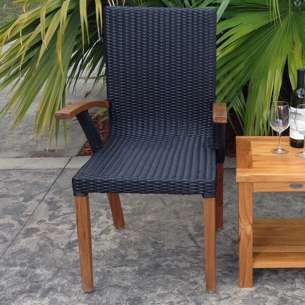 Bali Teak Patio Dining Chair by Chic Teak