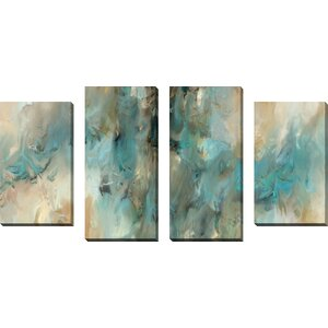 Vital Intercession by Mark Lawrence 4 Piece Painting Print on Wrapped Canvas Set by Willa Arlo Interiors