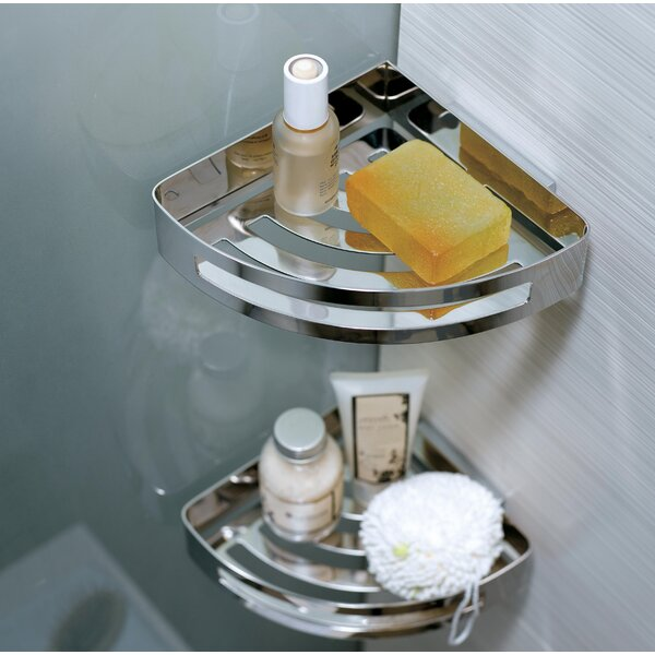 Esquibel Corner Shower Caddy by Orren Ellis