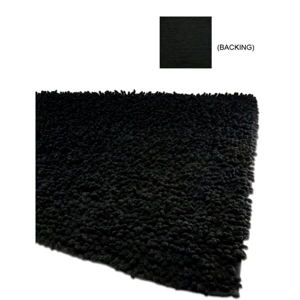 Echo Black Area Rug by IXI