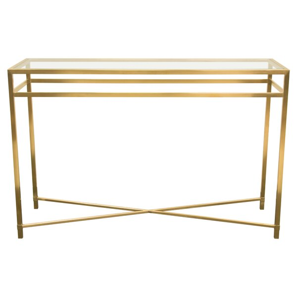 Diamond Sofa Glass Console Tables