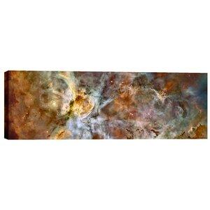 Carina Nebula Nasa Hubble Space Telescope Giclee Photographic Print on Wrapped Canvas by Cortesi Home