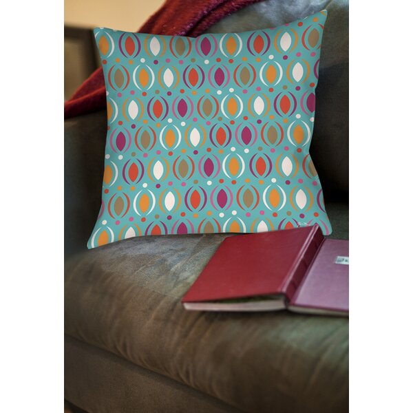 Banias Oval Printed Throw Pillow by Manual Woodworkers & Weavers