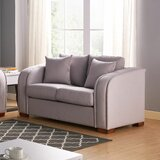 Cavello 60 Round Arm Loveseat by Latitude Run