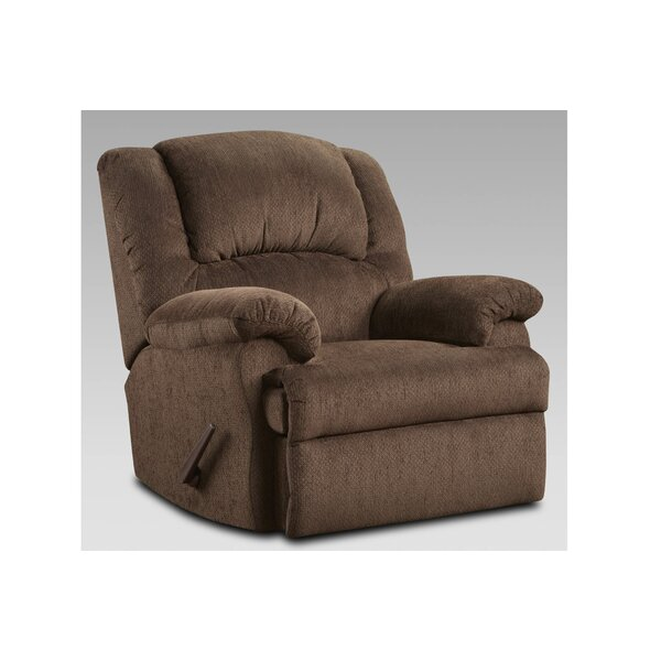 Kishmar Modern Manual Rocker Recliner