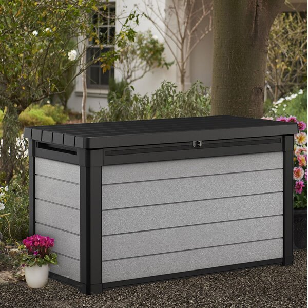 Denali 100 Gallon Resin Deck Box by Keter