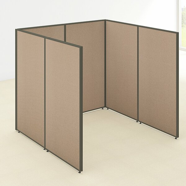 ProPanel Open Cubicle Configuration by Bush Business Furniture