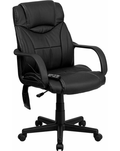 Kruger High-Back Massaging Executive Chair by Symple Stuff