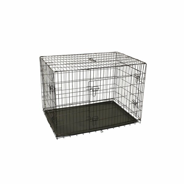 Menzel 3 Doors Folding Suitcase Pet Crate by Tucker Murphy Pet