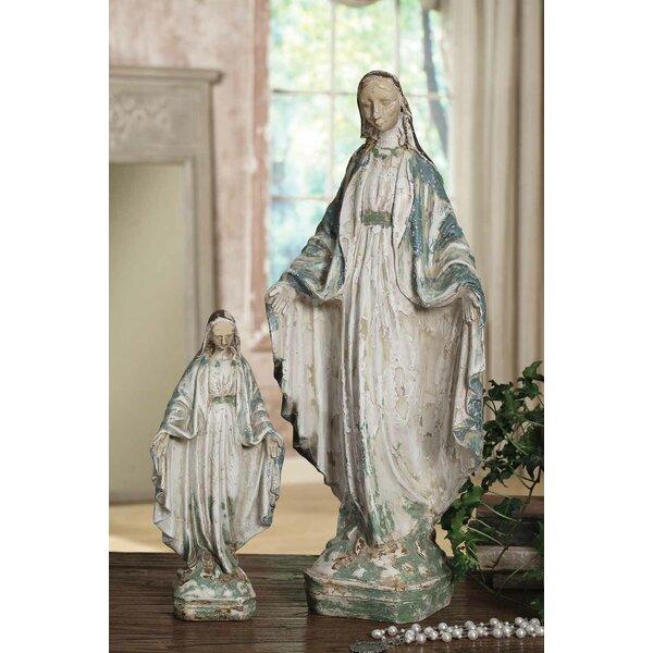 Otis Vintage Resin Reproduction Vintage Mary Figurine by Astoria Grand