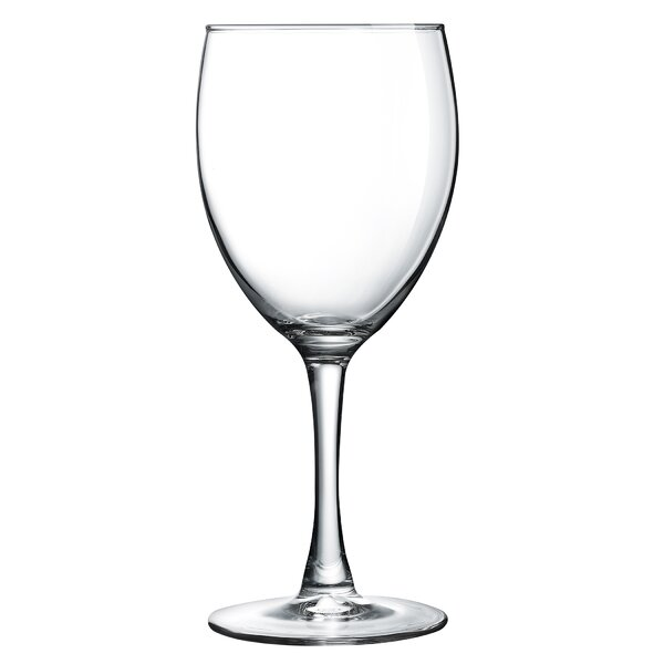 Molena Glass 12 oz. All Purpose Glass (Set of 4) by Mint Pantry