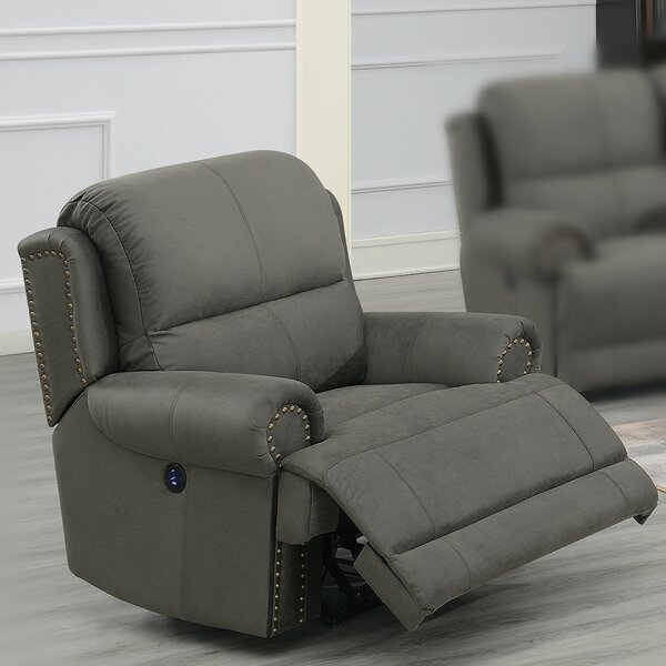 Careen Faux Leather Power Recliner W002398980