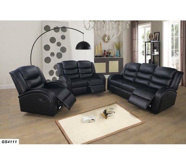 Amare 3 Piece Reclining Living Room Set By Red Barrel Studio