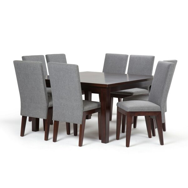 Doerr 9 Piece Dining Set by Bloomsbury Market