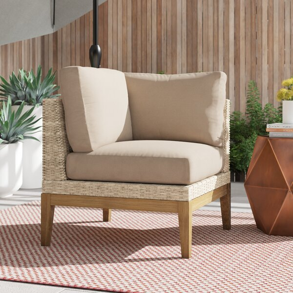 River Patio Chair with Cushions by Foundstone