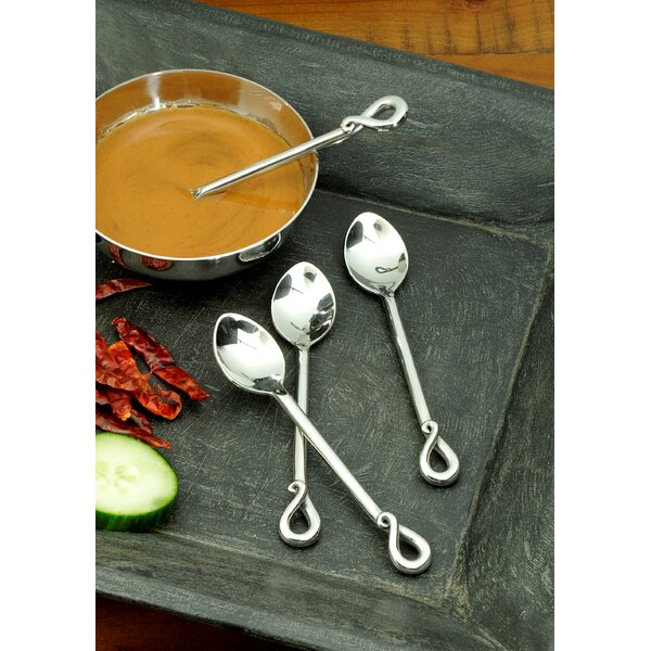 Elephant Tail Place Spoon (Set of 4) by William Sheppee