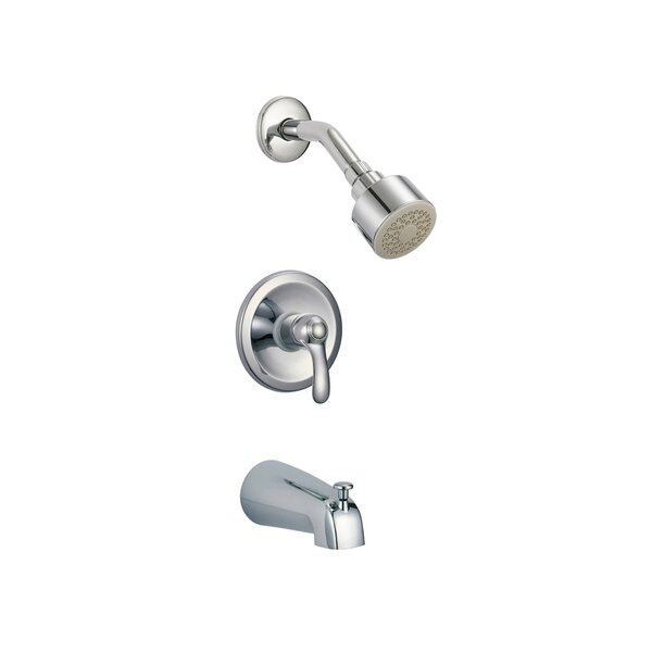 Nile Thermostatic Tub and Shower Faucet with Valve, Trim, and Diverter by Eisen Home