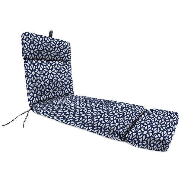 Indoor/Outdoor Sunbrella Chaise Lounge Cushion by Darby Home Co