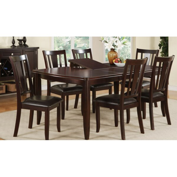 Annie 7 Piece Extendable Dining Set by A&J Homes Studio A&J Homes Studio
