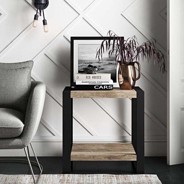 Theodulus Sled End Table With Storage By Mercury Row