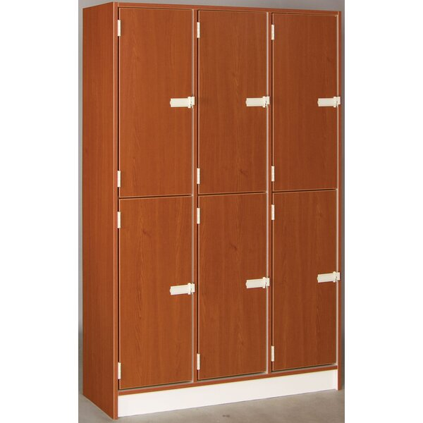 1 Tier 3 Wide School Locker by Stevens ID Systems