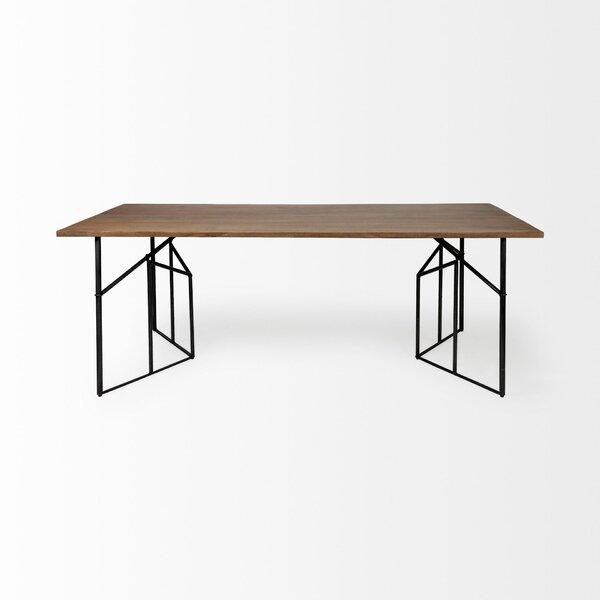 Brodhead Corrigan Solid Wood Dining Table W001270477