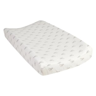 Clearance Vanarsdale Stag Deluxe Flannel Changing Pad Cover ByHarriet Bee
