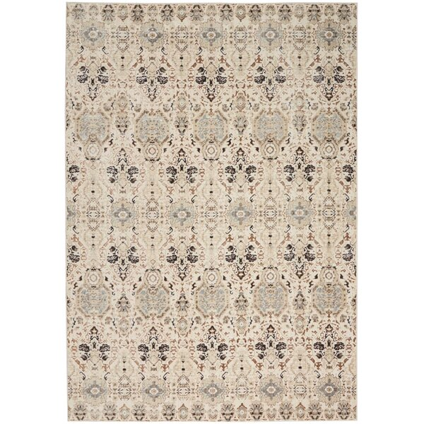 Silver Screen Gray/Slate Area Rug by Kathy Ireland Home