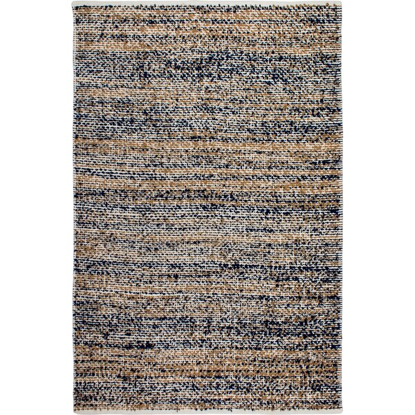 Estate Hand-Woven Blue/Brown Indoor/Outdoor Area Rug by Fab Habitat