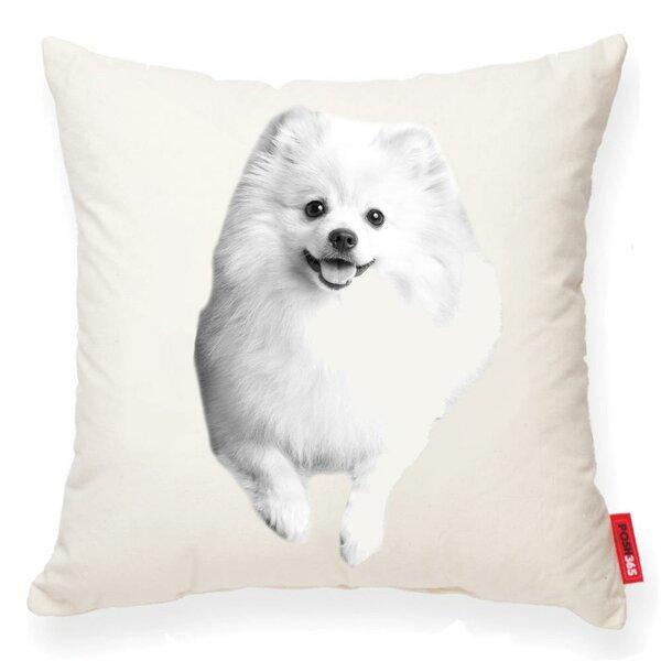Gaddis Pomeranian Cotton Throw Pillow by Winston Porter