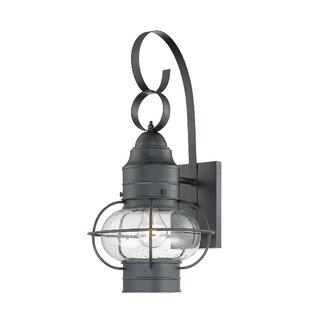 Best Francestown 1-Light Outdoor Wall Lantern By Bay Isle Home