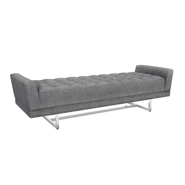 Luca King Upholstered Bench by Interlude
